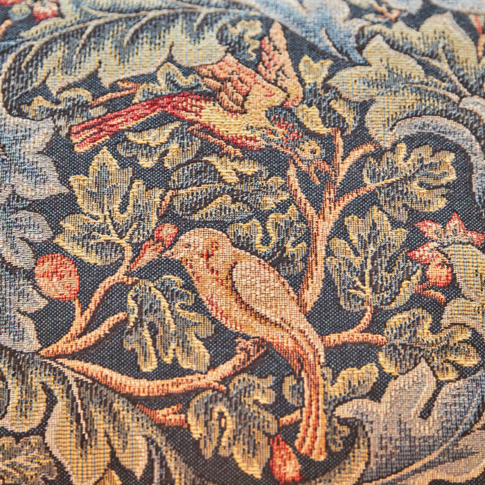 Birds amongst the trees on a padded cushion at Rook Lane House BnB