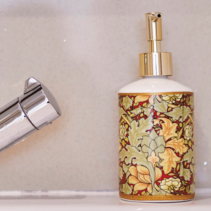 Elegantly designed toiletries to make you feel right at home