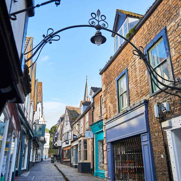 Classical street in Frome